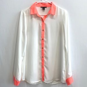 Forever 21 White button down